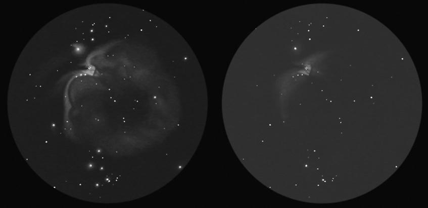 Stesso strumento, stessa serata, stesso ingrandimento ma diversi osservatori, uno esperto e l'altro alla prima esperienza. Il modo migliore per migliorare non è comprare sempre nuovi e più potenti telescopi ma allenarsi sotto cieli scuri.