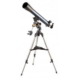 Un rifrattore acromatico da 90 mm su una piccola montatura equatoriale: un ottimo inizio per Luna e pianeti
