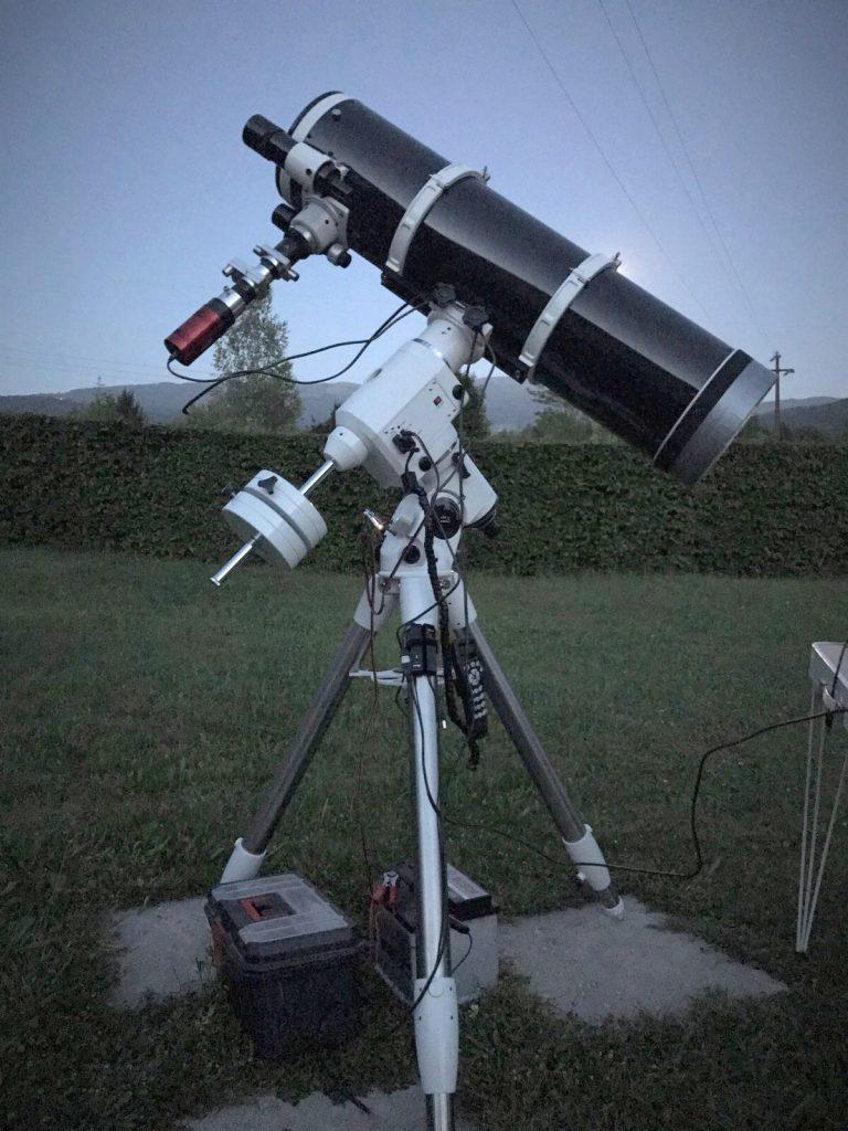 setup-spettroscopia