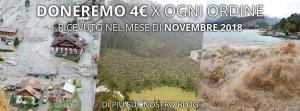 TS Italia sostiene le popolazioni flagellate dall'alluvione del 2018