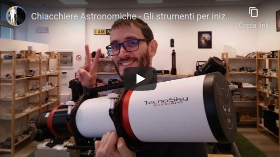 Chiacchiere Astronomiche - Gli strumenti per iniziare ad osservare il cielo